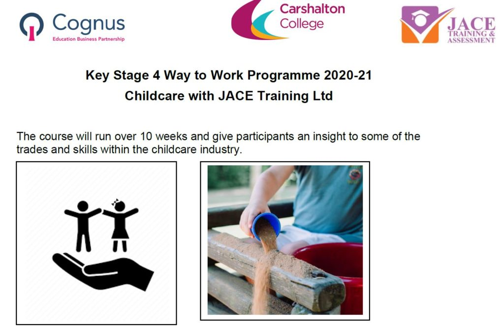 KS4 Way to Work Programme 2021-21